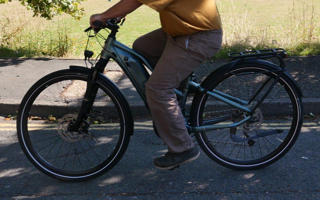 My e-bike journey begins